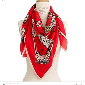 Madewell , city story scarf